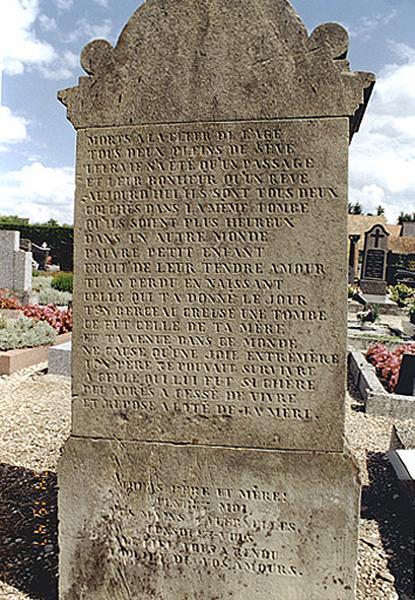 monument funéraire de la famille Sigwalt
