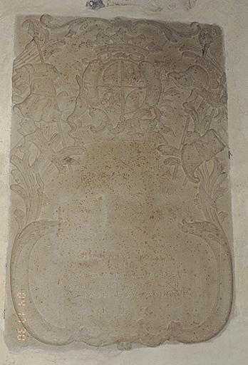 Plaque funéraire de F. E. von Sandersleben-Coligny