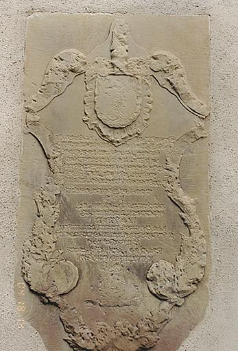 Plaque funéraire (No 2)