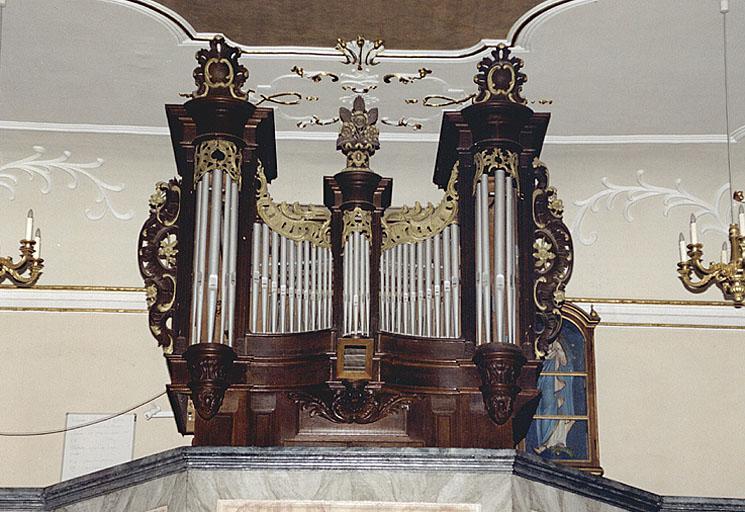 Buffet d'orgue (grand orgue)