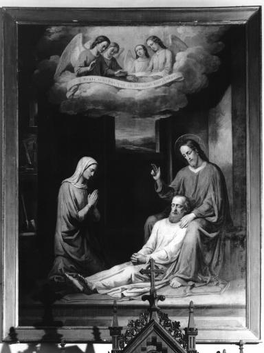 Tableau : Mort de saint Joseph