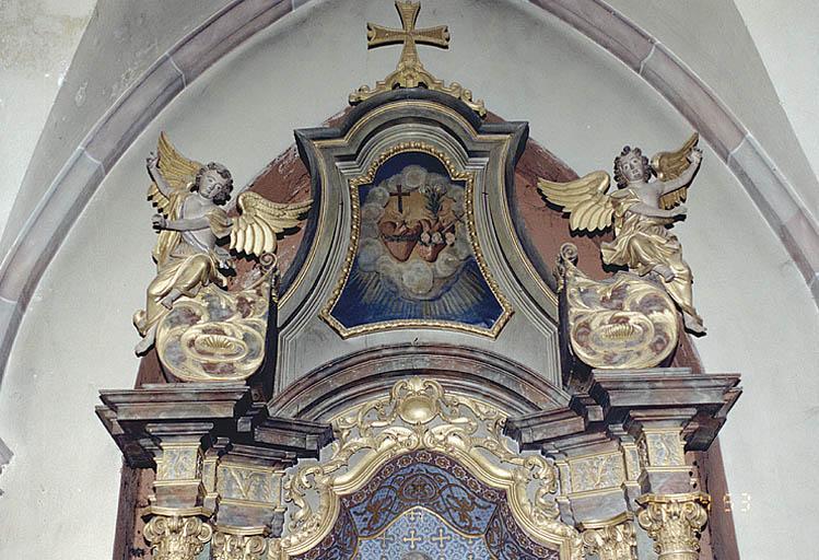Ensemble de 2 autels retables
