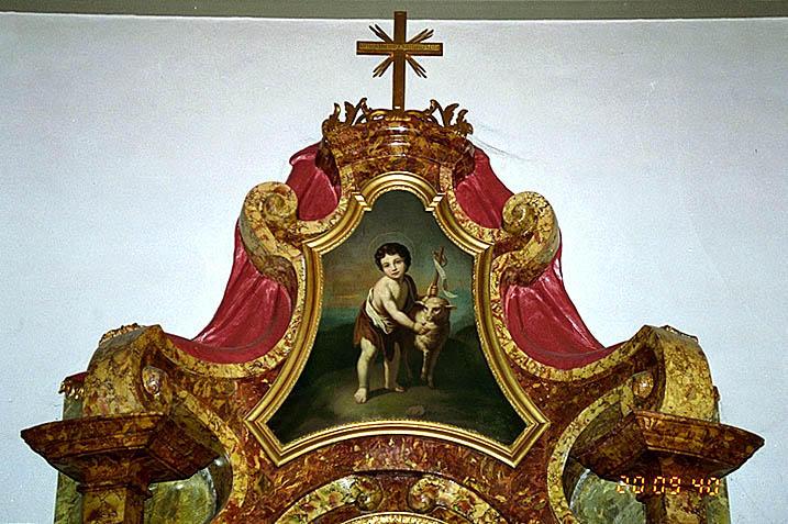 tableau : Saint Jean-Baptiste enfant