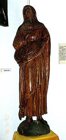 statue : Vierge de douleur