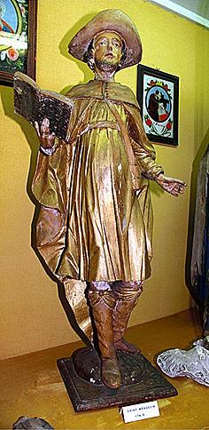 statue : saint Wendelin