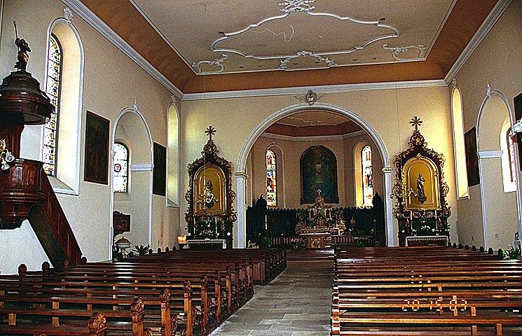 Église paroissiale Saint-Projet, Saint-Amarin