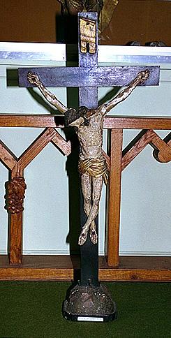 CROIX D'AUTEL : Christ en croix 2