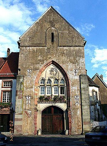 Abbaye de bénédictines Saint-Léger