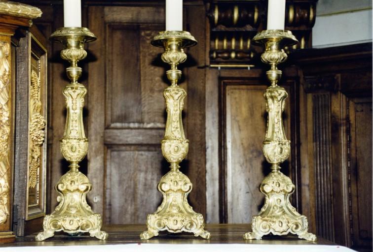 Chandeliers d'autels