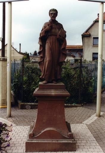 Statue (E) de saint François-Xavier