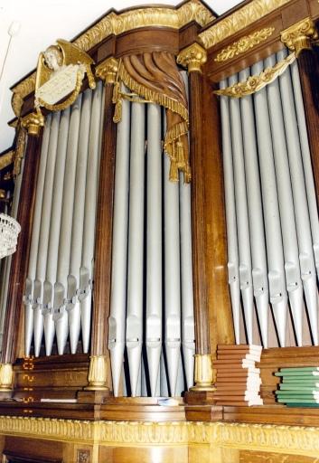 Buffet de l'orgue