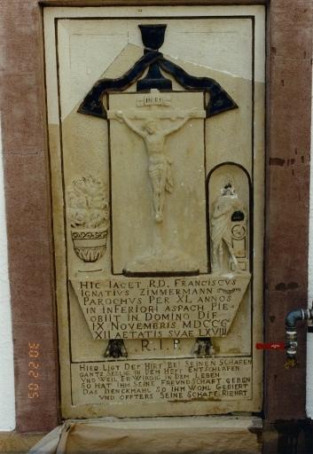 Monument funéraire de François Ignace Zimmermann
