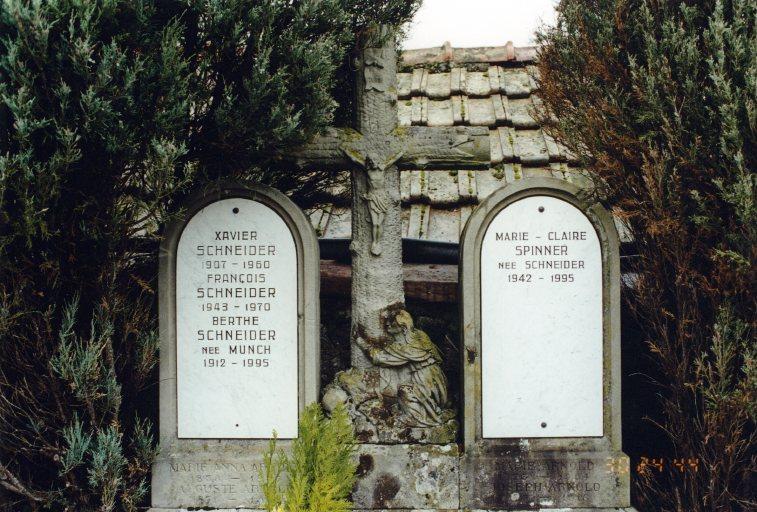 Monument sépulcral de la famille Arnold-Schneider