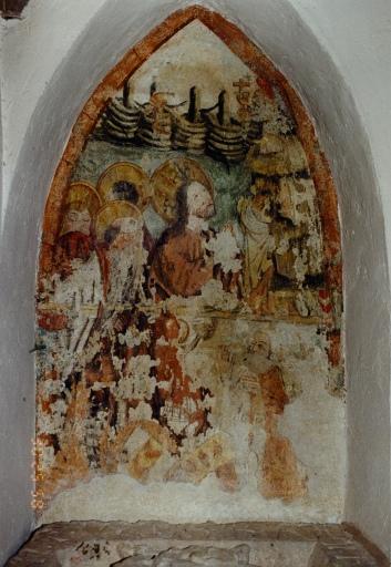 Peinture monumentale : Mont des Oliviers