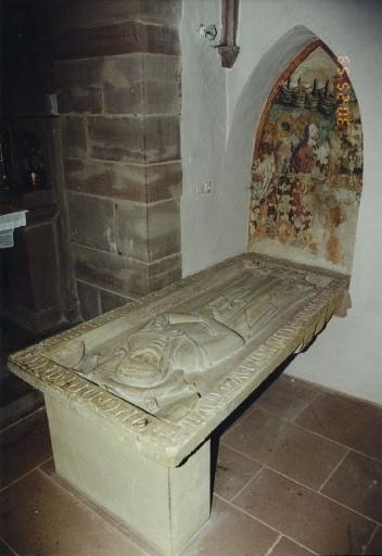 Monument funéraire d'Anne, épouse de Rodolphe de Wattwiller