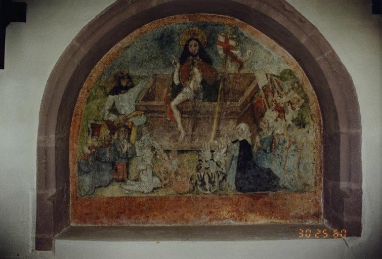 Peinture monumentale : Résurrection