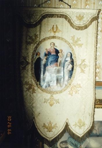 Bannière de la Vierge au Rosaire