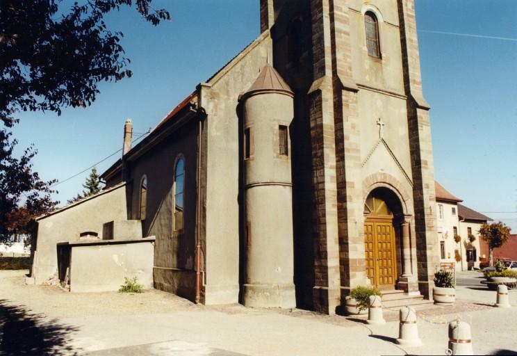 église paroissiale Saint-Gall