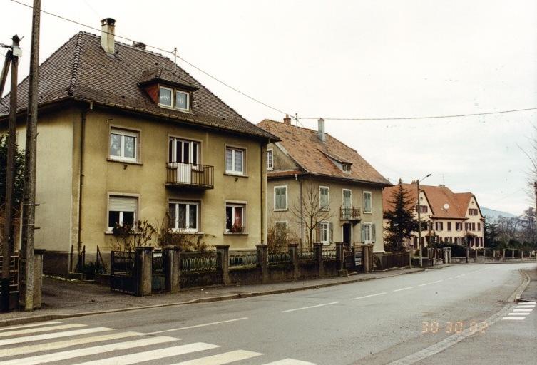 présentation de la commune de Schweighouse-Thann