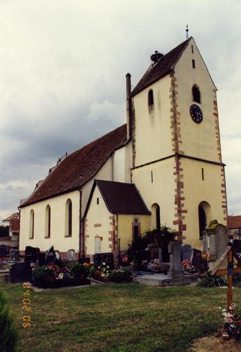 Eglise paroissiale Saint-Georges, puis église luthérienne