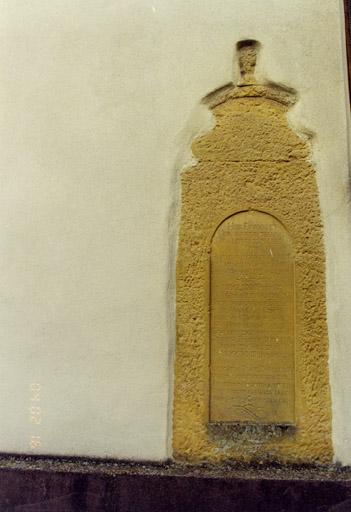 monument funéraire de Christian Jacques Frédéric Wetzel de Marsilien