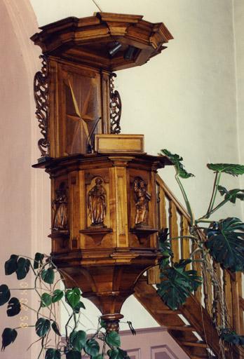 Ensemble de la chaire pastorale : Les Evangélistes