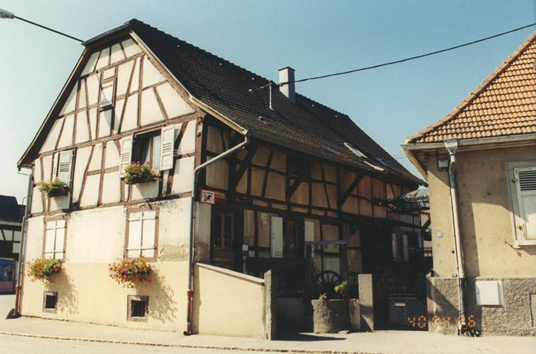 présentation de la commune d'Andolsheim