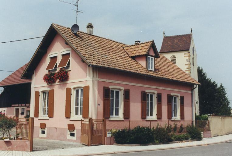 presbytère, maison