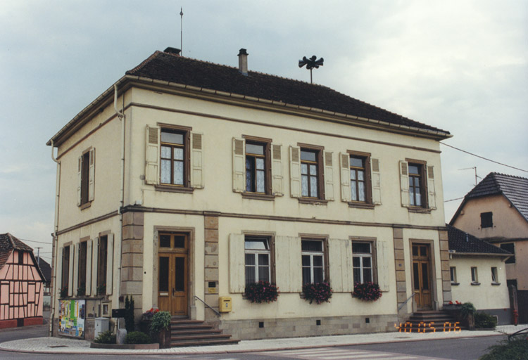 mairie, école