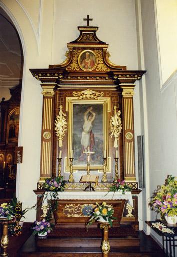 Ensemble de l'autel secondaire
