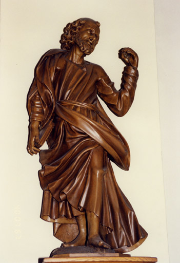 3 statues : Saint Maurice, saint Pierre, saint Paul