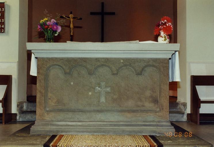 Le mobilier de l'église Saint-Laurent (simultaneum)