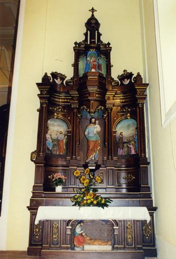 Ensemble des 2 autels secondaires