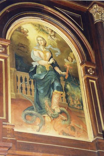 tableau : sainte Marguerite
