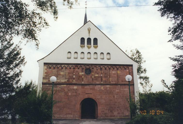 église paroissiale Saint-Martin, puis temple luthérien