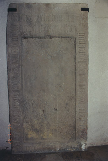 Dalle funéraire, de Wolfgang de Berckheim