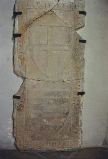 Dalle funéraire de Rodolphe et d'Elsa de Berckheim