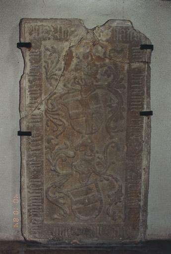Dalle funéraire de Hans de Berckheim et d'Anne de Rathsamhausen