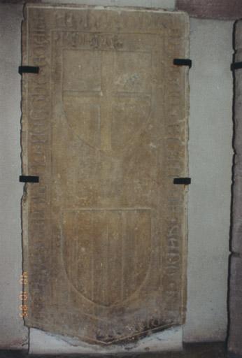 Dalle funéraire de Eguenolf de Berckheim