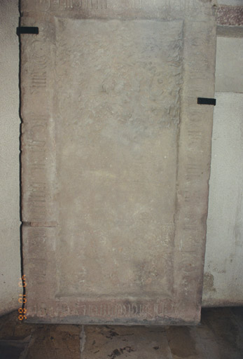 Dalle funéraire de Jacques de Berckheim