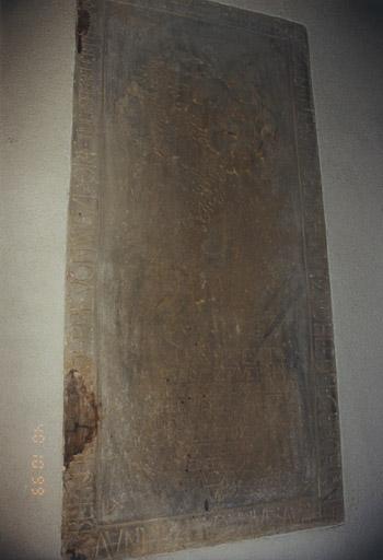 dalle funéraire d'Anne Catherine de Berckheim