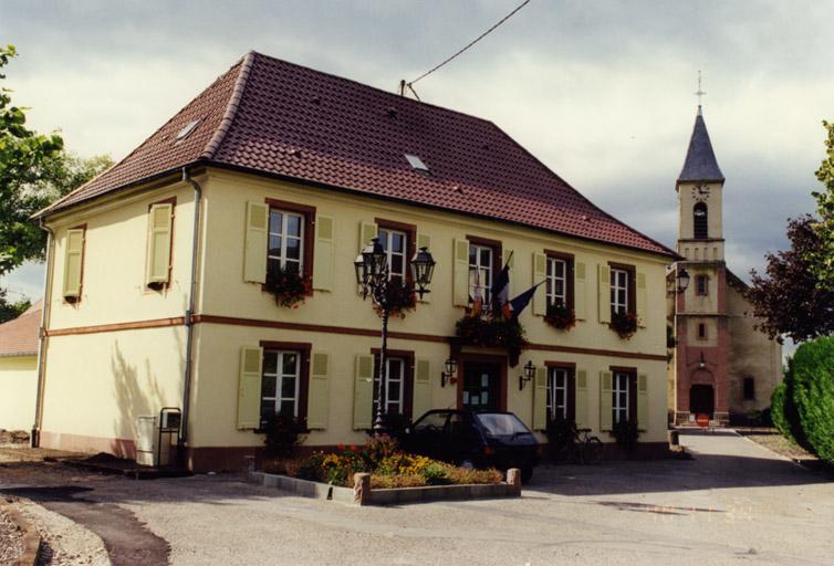 presbytère protestant, mairie