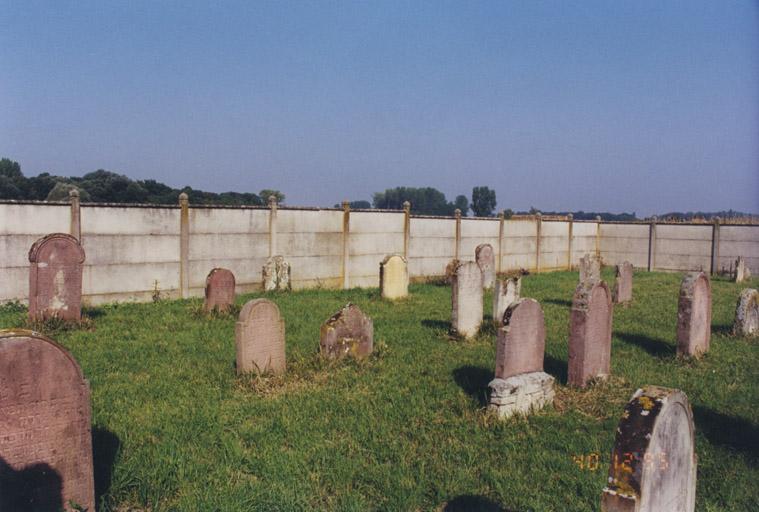 Le mobilier du cimetière juif
