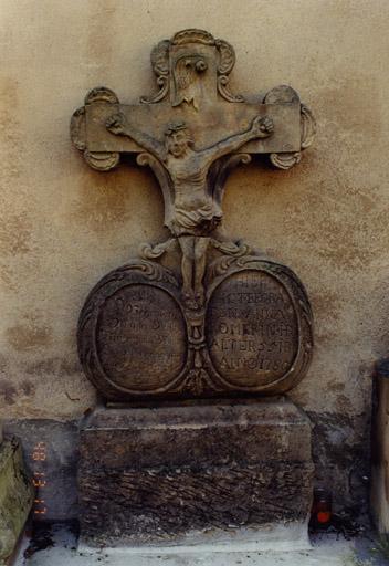 Monument funéraire de Michael Dietsch et d'Anna Romerin