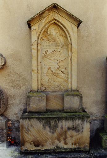 Monument funéraire de Léopold Eberhard de Rathsamhausen