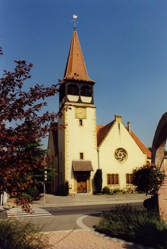 Eglise paroissiale, église protestante