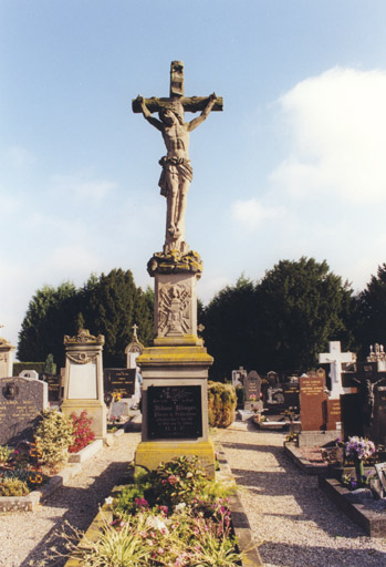 Croix funéraire de Barbara Klinger