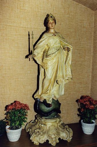 Statue de procession : Immaculée Conception