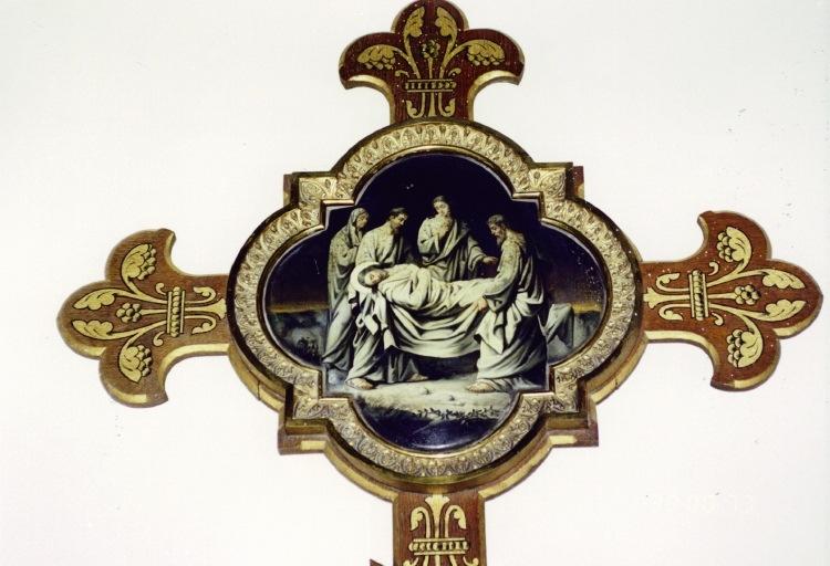 Chemin de croix : la mise au tombeau