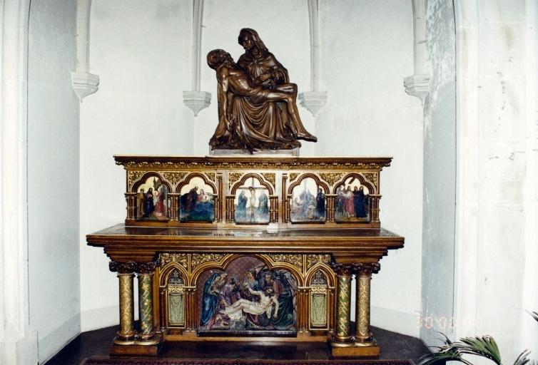 Ensemble des autels secondaires